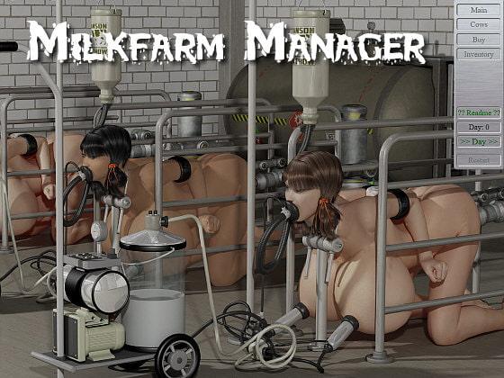 【新着同人ソフト】Milk Farm Managerのトップ画像